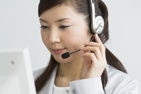 企業の顔である電話秘書