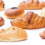 いくつも並ぶ菓子パン