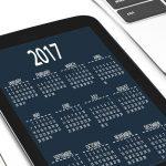 営業日を確認するためのカレンダー