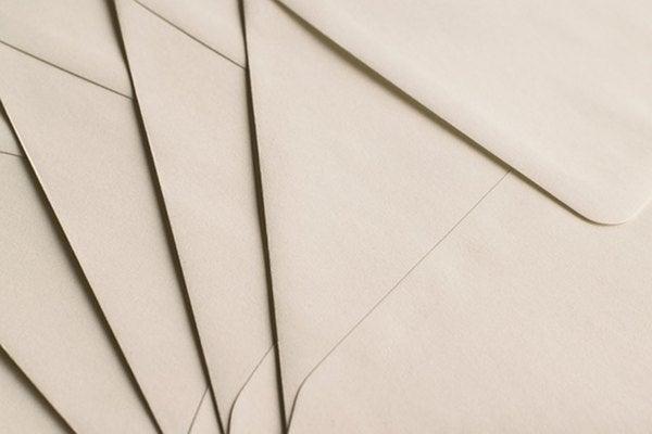 郵便物転送サービスで届いた手紙