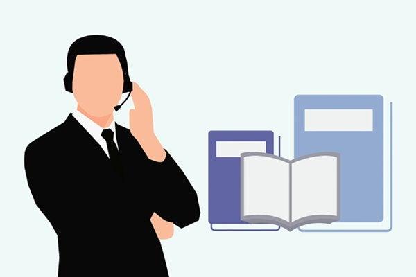 コールセンターに努めるSV
