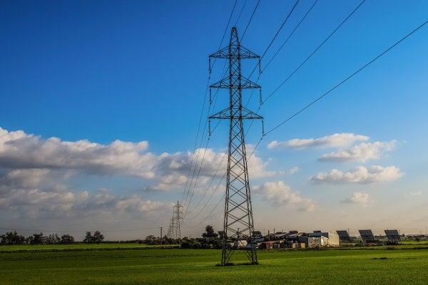 電力を供給する設備