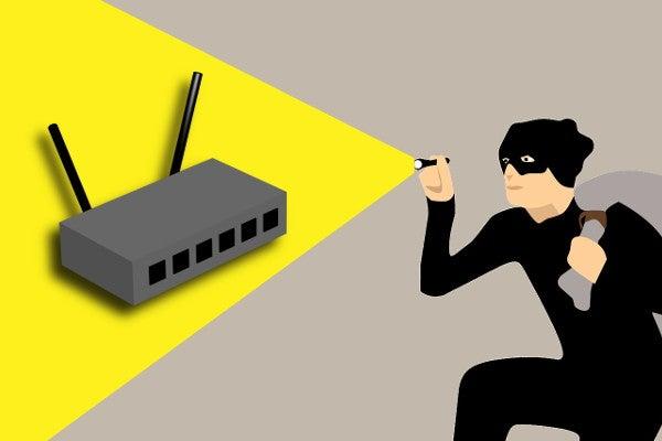 無線LANから盗まれる情報