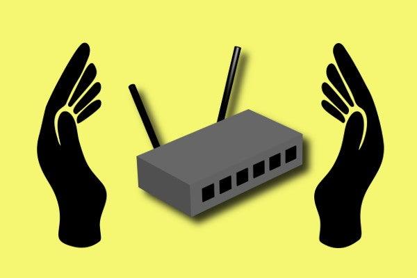 セキュリティ対策をする無線LAN