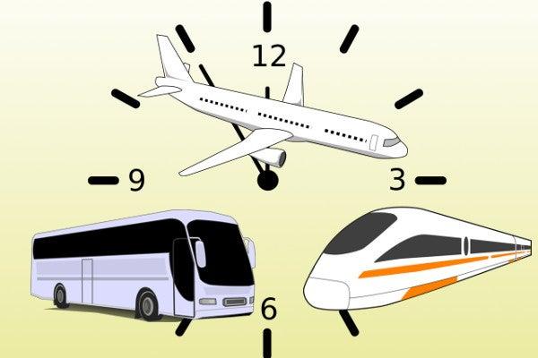 時刻表による時短