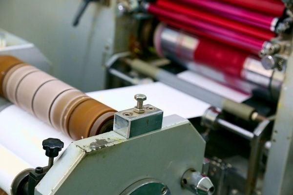 小規模な印刷会社
