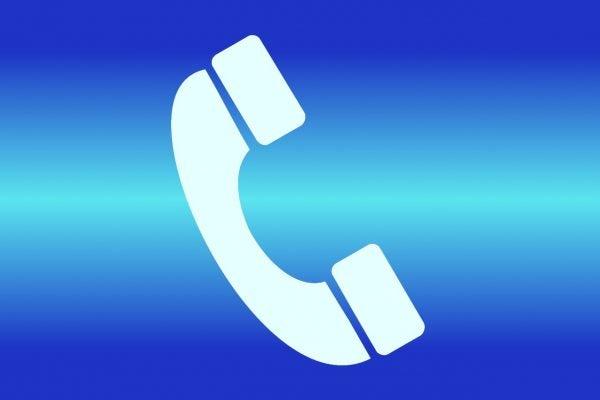 転送される電話